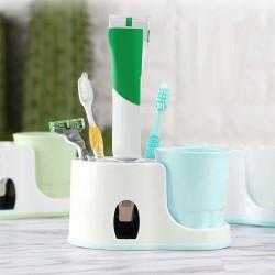 Kúpeľňový držiak s dávkovačom pasty