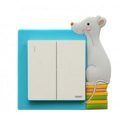Dekorácia na vypínač - myšiak