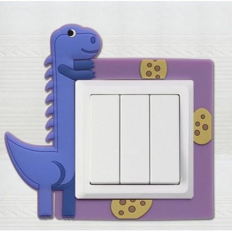 Dekorácia na vypínač - dinosaurus