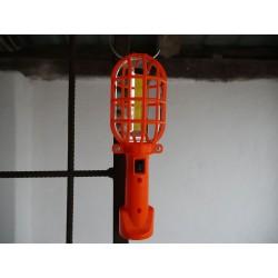 Prenosné svietidlo - oranžové