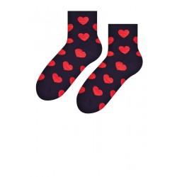Zamilované ponožky - čierne