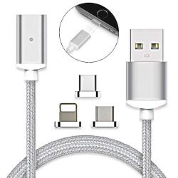 USB kábel s vymeniteľnými koncovkami