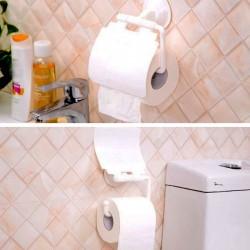 Držiak toaletného papiera s prísavkou