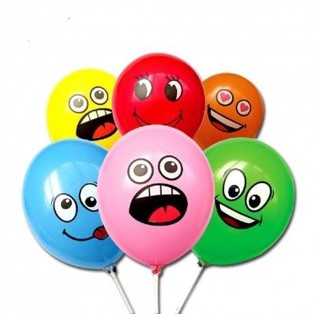 Balóniky s tvárou