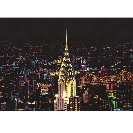 Stierací obraz - New York