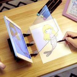 Projektor na obkresľovanie z mobilu