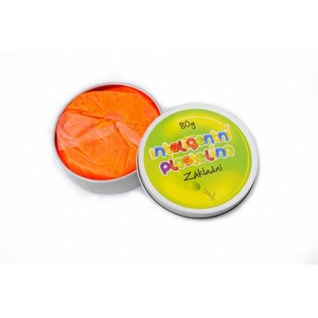Inteligentná plastelína - základná - oranžová