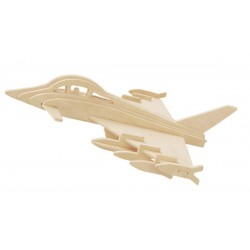 3D puzzle - Eurofighter Typhoon