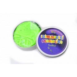 Inteligentná plastelína svietiaca - zelená
