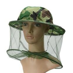 Klobúk s ochrannou sieťou na hlavu