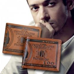 100 dollars pánska peňaženka