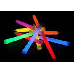 Svietiace tyčinky 15 cm chemické svetlo