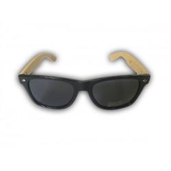 Bambusové okuliare - čierne