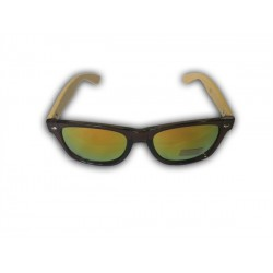 Bambusové okuliare - dúhové