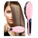Kefa na vyrovnávanie vlasov - ružová