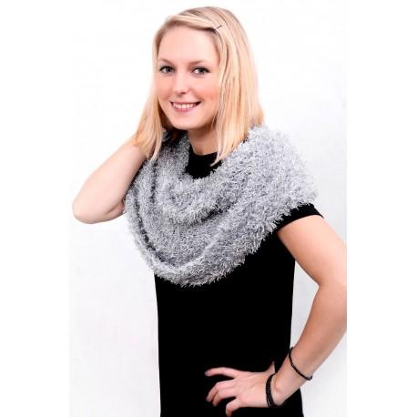 Magický šál Amazing scarf biela