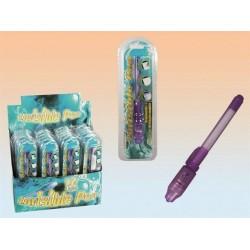 Pero s neviditeľným atramentom + UV svetlo