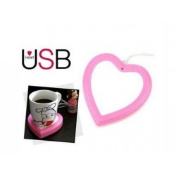 USB ohrievač nápojov srdce