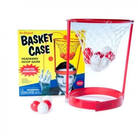 Basketbalový kôš na hlavu
