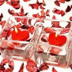 Romantické sviečky pre zamilovaných