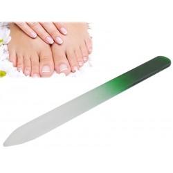 Sklenený pilník na nechty