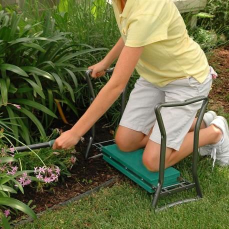 Záhradná stolička s kľakadlom