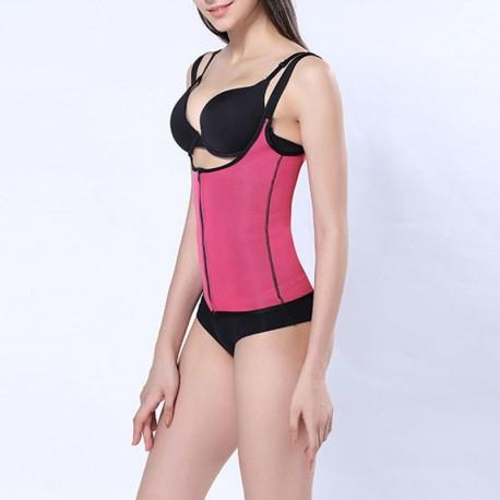 Športová vesta so sauna efekom - fialová