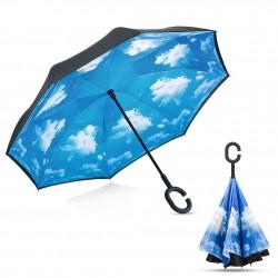 Obrátený dáždnik nebo