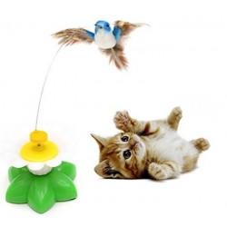 Hračka pre mačky - lietajúci kolibrík