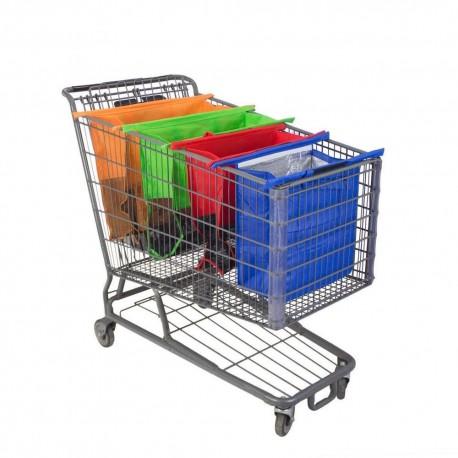 Sada nákupných tašiek do vozíka