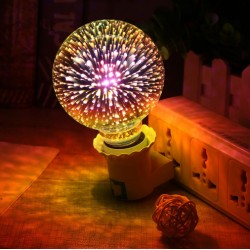 Žiarovka - ohňostroj