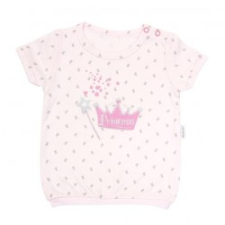 Tričko krátky rukáv Mamatti - Princezná