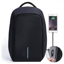 Bezpečnostný batoh s USB nabíjačkou