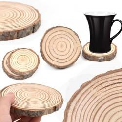 Drevená podtácka - letokruhy