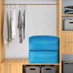 Úložný vak na oblečenie a deky - modrý