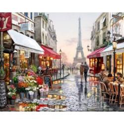 Diamantové maľovanie - Eiffelová veža