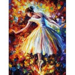 Diamantové maľovanie - Baletka
