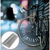 Reflexné tyčky na bicykel